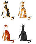 Cat Adopts 6 - Open by LadyLirriea