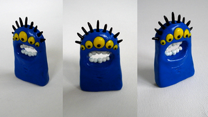 Say Ahhh Fimo by moopf
