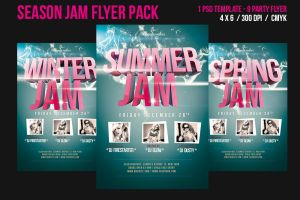 Season Jam Flyer by stockgorilla