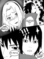 SAKURA AND SASUKE SLEEPING BEUTY NO GENJUTSU! P. 4 by ambarnarutofrek1