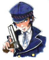 Naoto Shirogane by schoolbell