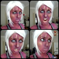 Omec make-up trial by AliceTheInsane