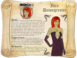 Zara Dawngreeter by Zara-Arletis