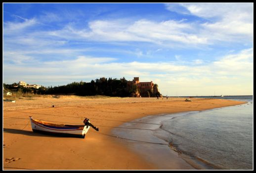 Castle on the beach by LuadeCristal