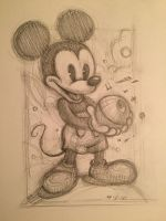 Mickey Mouse by AlexRuizArt