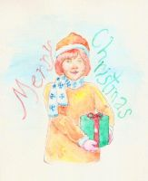 Merry Christmas from a fat kid by azmosis