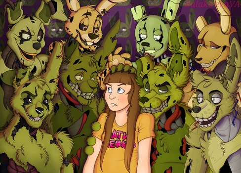 Welcome to Springtrap's Paradise by BalakirevaVA