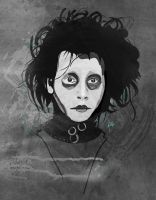 Edward scissorhands by mjdaluz
