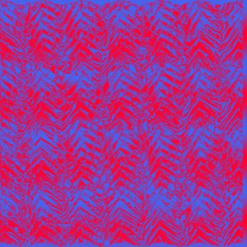 Red and blue metallic weave by stingerjpgr