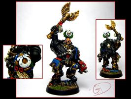 Chaplain Cassius by aaronprovost