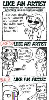 Like an Artist by Insomniacs-Corner