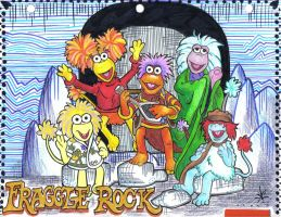 Divider 5: Fraggle Rock by singing-in-anguish