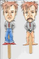 Rik Mayall Popsicle Puppets 3 by angelacapel