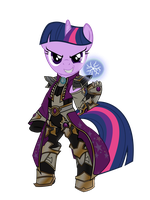 Vector MLD Wizard Twilight Sparkle by Barrfind