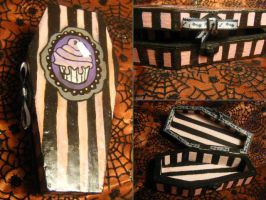 Tea Time Coffin Box by tragicbat