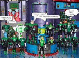 Introducing Green Lantern Kit Fisto by Aradrath