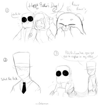 [Villainous] Happy father's day by owoSesameowo