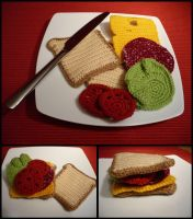 For Tim - Sandwich by Luluriel