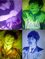 The Beatles by McCoy92