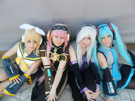 vocaloid group 1 by AliceNero