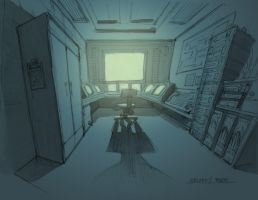 Security Room by Rusty001