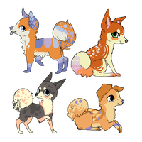 adoptables! OPEN by Valizan-Adopts