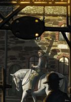 on a horse by powerlink