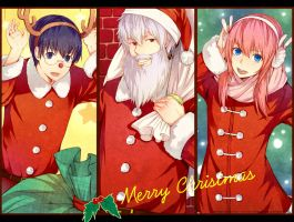 Gintama--2011Merry Christmas by zxs1103