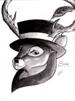 The Top Hat's Clan: Bambi by Ignisfierywolf