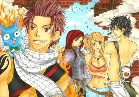 Fairy Tail by bomgirl