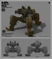 UNSF Walker Tank 67 by NuMioH