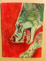Iron Artist Challenge ACEO 6 by nightspiritwing