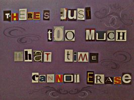 Time Cannot Erase by MishUMuch
