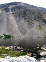 Silver Dollar Lake by AKFrostwriter