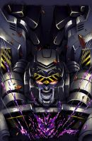 Megatron Origins 1 cover color by MarceloMatere