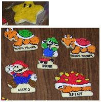 Mario Cookies by Saiyan-Silk