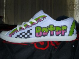 Blood on The Dance Floor Custom sneakers 3 by SydeTrakked