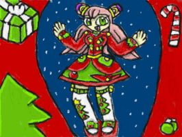 Luna Christmas Outfit by SurgeCraft