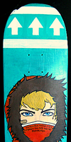 South Park: Kenny sk8 deck by student-yuuto