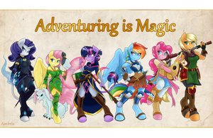 Adventuring is Magic by Ambris