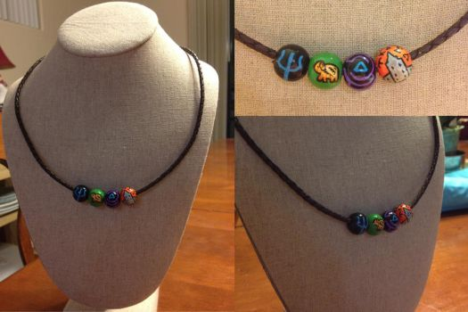 Percy Jackson's Necklace by GreyBird4