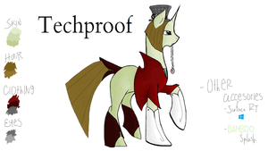 Techproof Reference Sheet by SyobonHatena1000