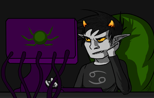 Moonbound 1.1 Karkat: Ruin everything. by Keyhole-Cat