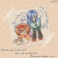 Remember when we first met? by Exarrdian
