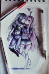 Bubbline - Ballpoint pen by Nasuki100