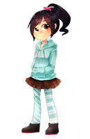 Vanellope by RayRie
