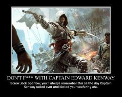 Don't f with Captain Kenway by Volts48