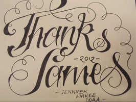 Thanks James by Love-Art-Type