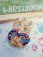 Pretzels 1/6 scale by LittlestSweetShop
