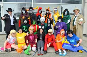 HS: homestuck panel oct '13 by dark--romance